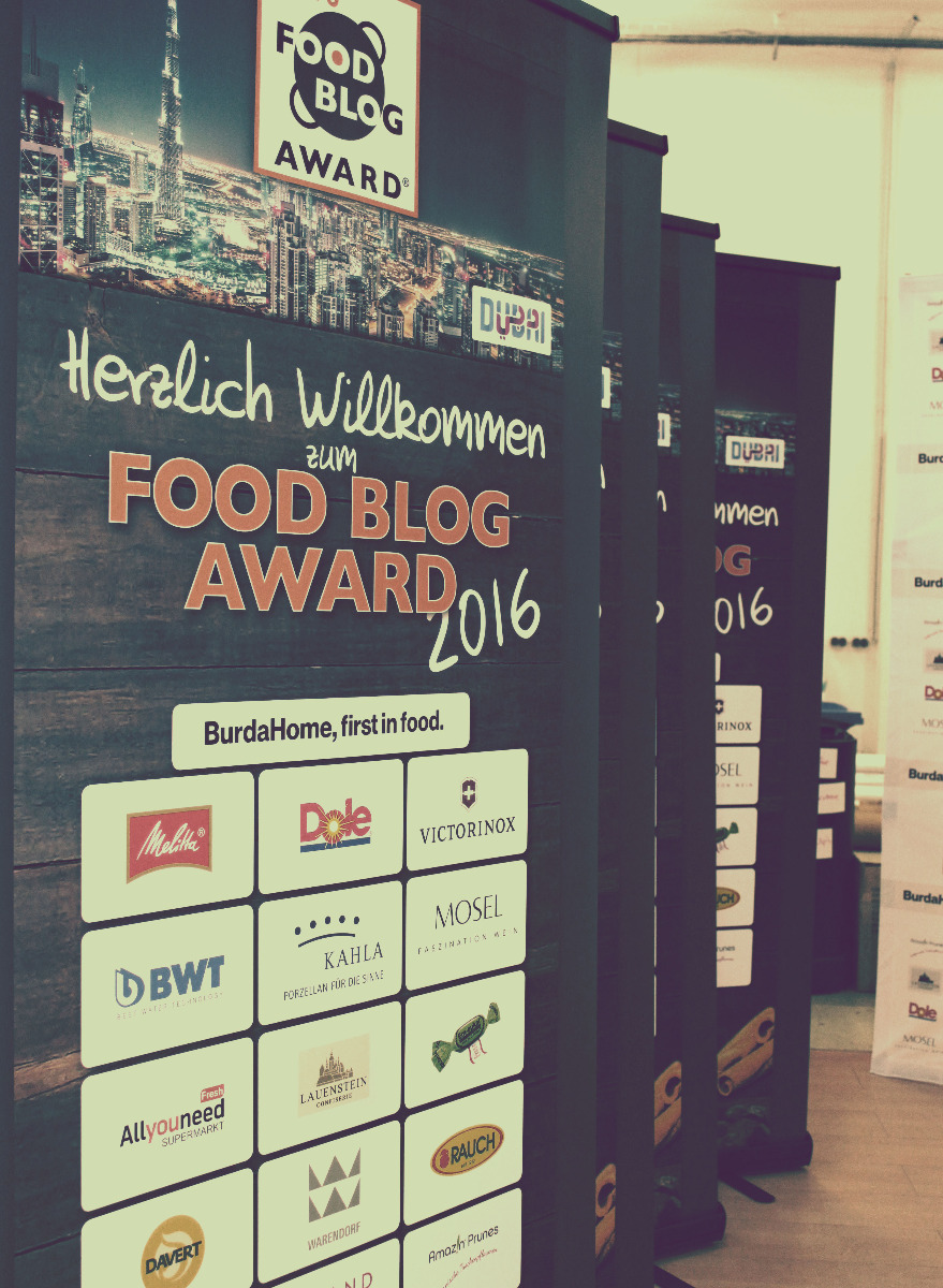 Referenz Rollup Monster Food Blog Award